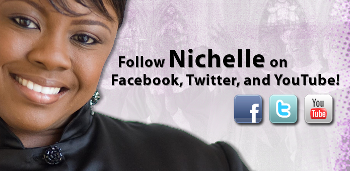 Follow Nichelle on Facebook, Twitter, and YouTube!